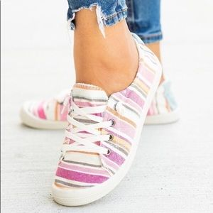 Striped Comfy Sneakers